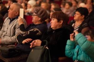 зрители на концерте дубрава