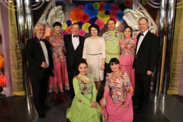 Концерт ОТВ 8 Марта ансамбль Дубрава