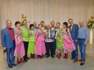 Ансамбль Дубрава после концерта