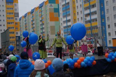Народный ансамбль Дубрава на празднике микрорайона Звездный
