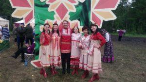 ансамбль Дубрава и бажовский фестиваль