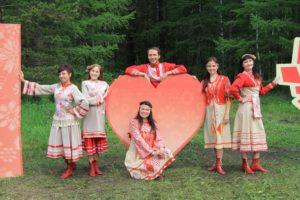ансамбль дубрава на бажовском фестивале 2017
