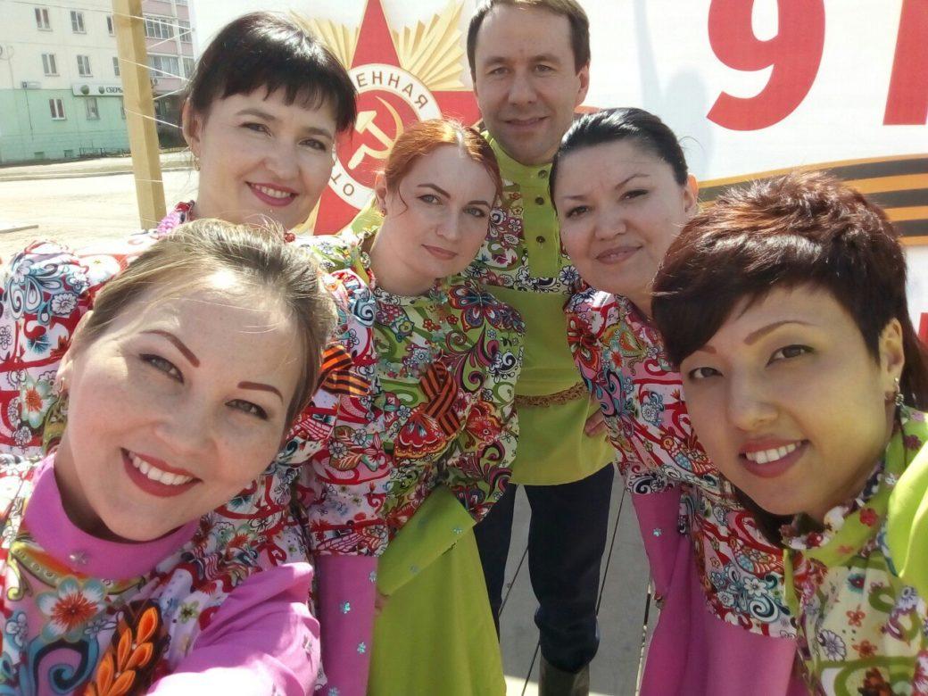 9 мая народный ансамбль дубрава