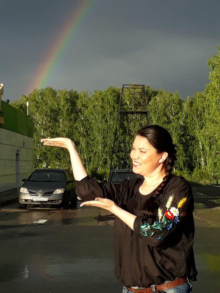 красивая радуга