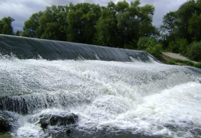 водопад зарайск
