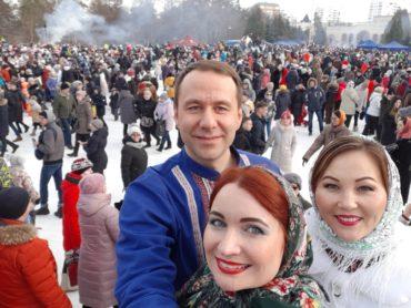 Масленица в России артисты