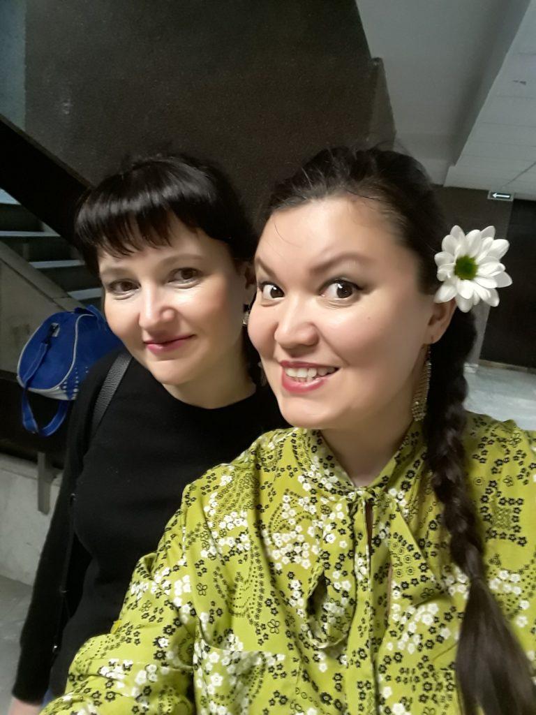 Юлия Чупина и Лилия Максимова Дубрава народные песни