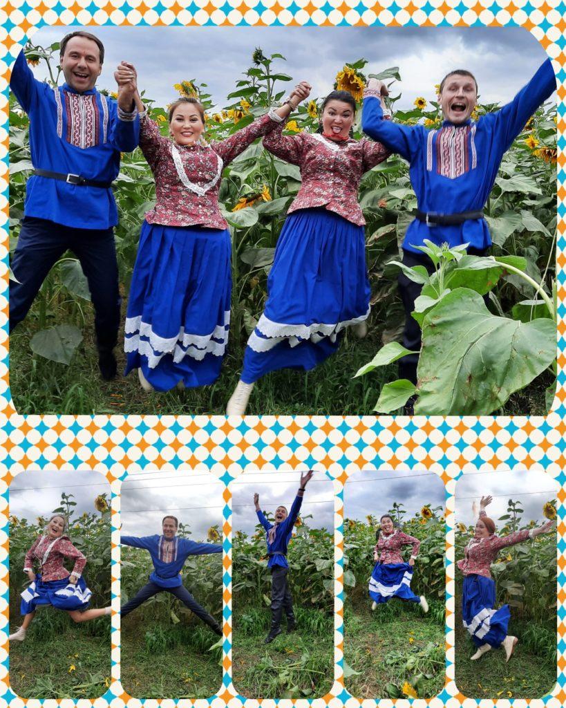 Прыгающий народный ансамбль Дубрава