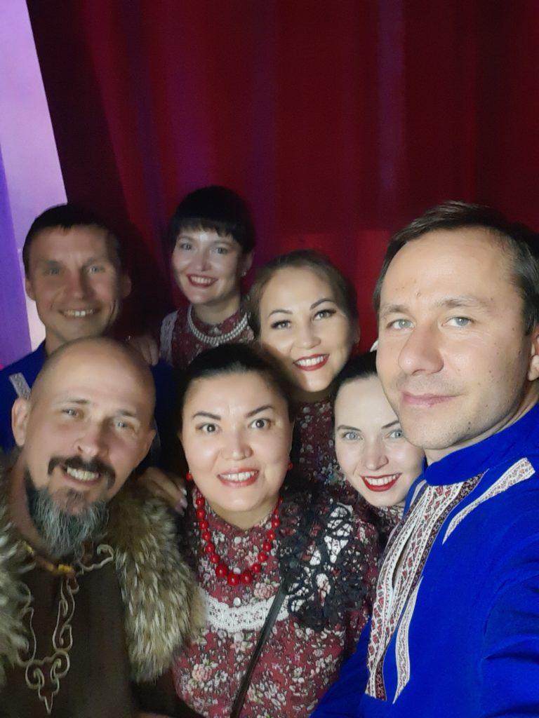 Фолк группа Дубрава Next и Тюргэн Кам жгучая смесь этно жанров